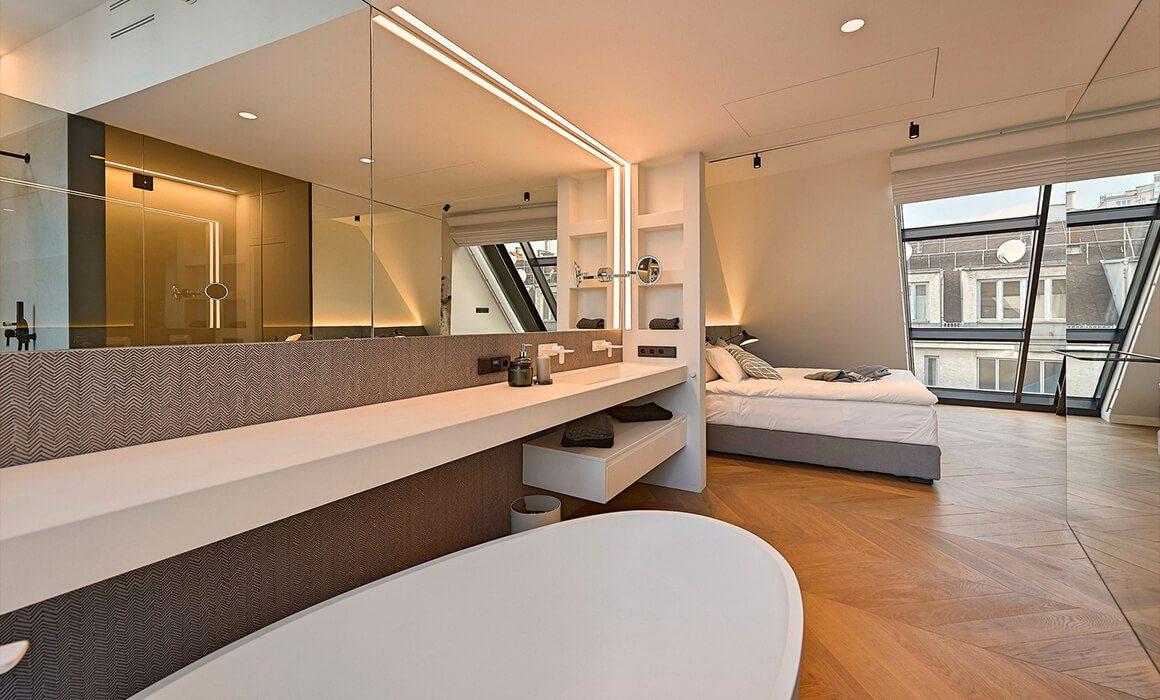 Luxury Double Room Suite, Attic Floor