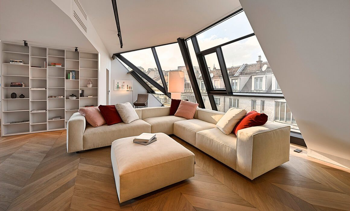 Luxury Double Suite, Attic Floor