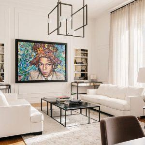 Luxury Single Room Art Suite